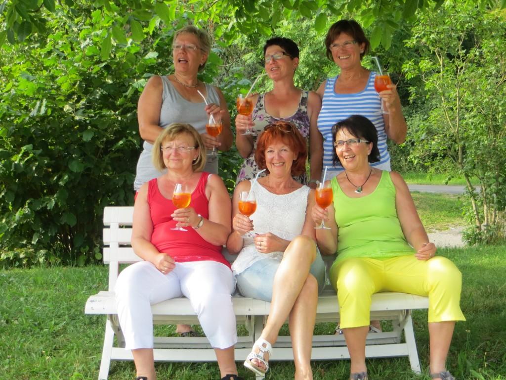 Damen 50 2014 nach dem Aufstieg in die Verbandsstaffel